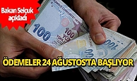 Bakan Zehra Zümrüt Selçuk: Ağustos ayı sosyal yardım desteği ödemeleri 24 Ağustos'ta başlayacak