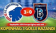 Başakşehir, UEFA Avrupa Ligi'ne veda etti!