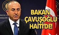 Dışişleri Bakanı Çavuşoğlu ve Haiti Devlet Başkanı Moise heyetler arası görüşme gerçekleştirdi