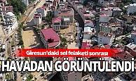 Giresun'daki selde 10 kişiyi arama çalışmaları devam ediyor