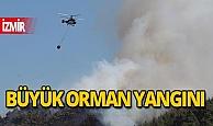 İzmir'de korkutan orman yangınları