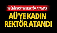 Son dakika: Akdeniz Üniversitesi Rektörü Prof. Dr. Özlenen Özkan oldu