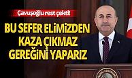 Son dakika: Dışişleri Bakanı Çavuşoğlu, Yunanistan'a rest çekti!