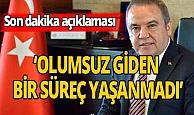 Antalya haber: Başkan'ın durumu stabil