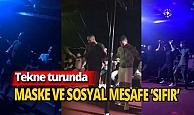 Antalya haber: Tekne turunda maske ve sosyal mesafe 'sıfır'