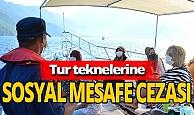 Antalya haber: Teknelere sosyal mesafe cezası