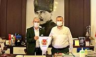 Başkan Taş'tan AGC'ye ziyaret
