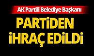 AK Parti'de belediye başkanı partisinden ihraç edildi!