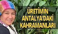Antalya haber: 'Kadın çiftçiler' üretiyor