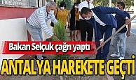 Antalya haber: Milli Eğitim Bakanı Ziya Selçuk'un çağrısını Kemer'de başlattılar