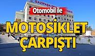 Antalya haber: Motosiklet ile otomobil çarpıştı