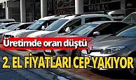 Otomobil üretimi yüzde 18 düştü: 'İkinci el' fırladı
