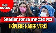 Son dakika... İzmir'de enkaz altında kız çocuğu sesi duyuldu