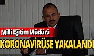 Tokat Milli Eğitim Müdürü Murat Küçükali koronavirüse yakalandı