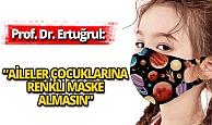 Yüz yüze eğitimde 'renkli maske' tehlikesi