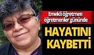 Tokat'ta emekli öğretmen Mehtap Bedenbaşı koronavirüs nedeniyle hayatını kaybetti