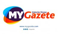 Antalya Muratpaşa'dan iş makineli 23 Nisan korteji