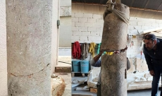 Antalya'da 2 bin yıllık mil taşı bulundu