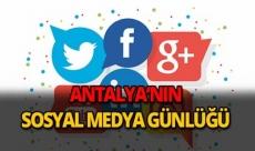 16 Ekim 2018 Antalya sosyal medya günlüğü
