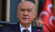MHP Genel Başkanı Bahçeli'den flaş açıklama!