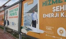 Antalya'da o afişlere çirkin saldırı!