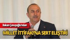 """Bakan Çavuşoğlu: """"Türkiye yansa, yıkılsa mutlu olacaklar var"""""""