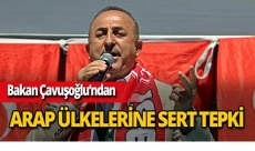 """Bakan Çavuşoğlu: """"Bazı Arap ülkeleri korkudan sesini çıkaramıyor"""""""