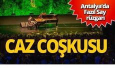 Antalya Fazıl Say ile buluştu