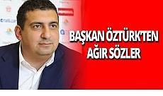 Başkan Ali Şafak Öztürk eski başkan Gencer'e ağır sözlerle cevap verdi