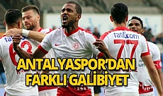 Antalyaspor'dan deplasmanda farklı galibiyet