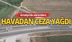 Antalya haber: Trafik havadan denetlendi