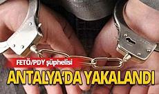 Yakalanan FETÖ/PDY şüphelisi tutuklandı