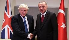 Son dakika: Cumhurbaşkanı Erdoğan ile Boris Johnson arasında kritik görüşme!