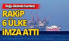 Türkiye'ye rakip ülkelerden Doğu Akdeniz hamlesi