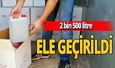 Antalya haber: Baskında litrelerce ele geçirildi