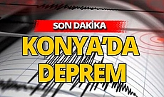 Son dakika: Konya'da deprem