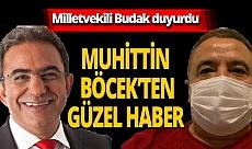 Antalya son dakika...Milletvekili Çetin Osman Budak müjdeyi verdi! Muhittin Böcek'ten güzel haber