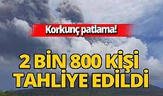 Endonezya'da Ili Lewotolok Yanardağı'nda patlama meydana geldi! 2 bin 800 kişi tahliye edildi
