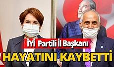 İYİ Parti Muş İl Başkanı Aşık koronavirüs sebebiyle hayatını kaybetti