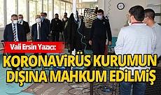 Vali Ersin Yazıcı Antalya E Tipi Kapalı ve Açık Ceza İnfaz Kurumu'nu denetledi
