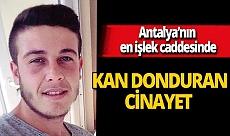 Antalya'da Onur Çavuşoğlu bıçakla saldırdığı Ali Akgül'ü öldürdü