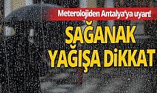 3 Aralık 2020 Perşembe Antalya'da hava durumu