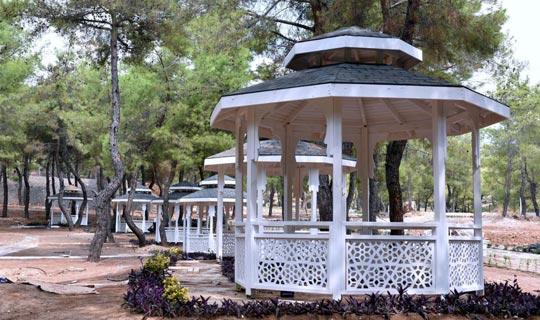 Antalya Kent Ormanı Meşe Kapısı piknik alanı