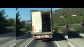 Akseki'de trafiği birbirine kattı!
