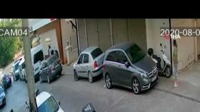 Alanyada otomobildeki 2 çocuğu kaçırma girişimi