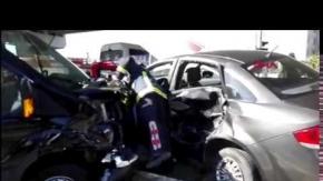Antalya'da 4 kaza: 1'i Alman, 3'ü Suriyeli 12 yaralı