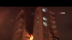 Antalya'da 5. katta mahsur kaldı, ekipler seferber oldu!