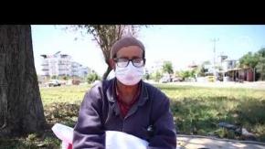 Antalya'da 'açık hava yorgancısı' mesleğini 45 yıldır sürdürüyor