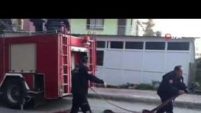 Antalya'da alev alev yandı!