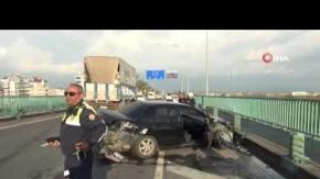 Antalya'da alkollü sürücü faciaya neden oluyordu!